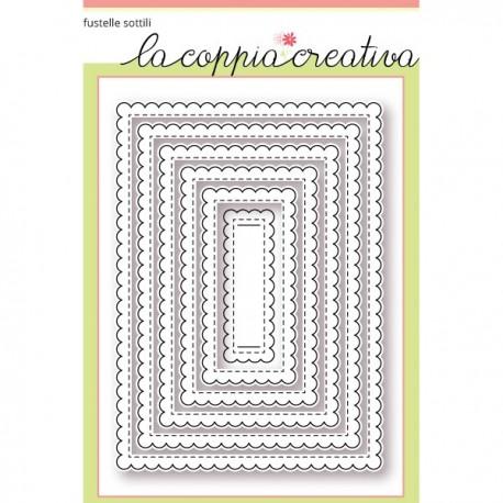 Fustella La Coppia Creativa - Rett. Smerlati