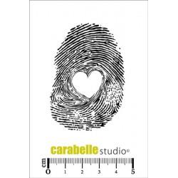 Timbro Cling ArtStamp - Empreinte coeur