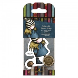 Timbro cling Docrafts - Santoro - The Friendly Hedgehog