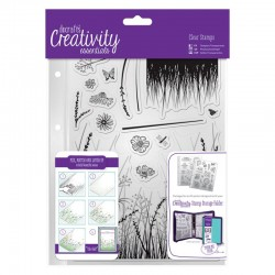 Timbro clear Docrafts - Meadow