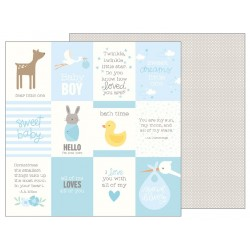 Carta Pebbles - Lullaby - Baby Boy Quotes