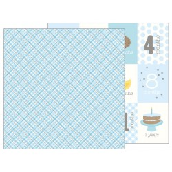 Carta Pebbles - Lullaby - Baby Boy Plaid