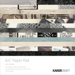 KaiserCraft 6.5x6.5 pad - Just Landed