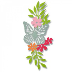 Fustella Sizzix Thinlits - Meadow Butterfly 2