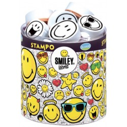 Confezione Mini Timbri Cling Aladine - Smiley