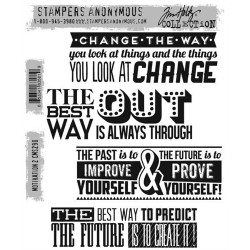 Timbro Cling Tim Holtz - Motivation 2