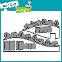 Fustelle Lawn fawn - Little Town Hillside