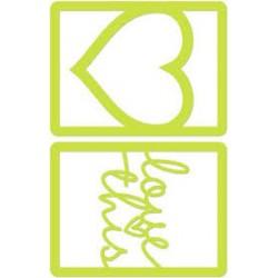 Fustella KaiserCraft - Love Frames