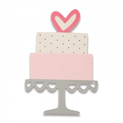 Fustella Sizzix Thinlits - Celebration Cake Mini