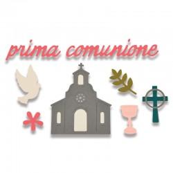 Fustella Sizzix Thinlits - Prima Comunione
