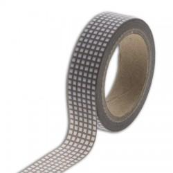 Washi Tape - Toga - Quadratini Grigio