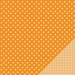 Cartoncino american craft - Apricot dot