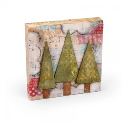 Fustella Sizzix Originals - Trees, Three