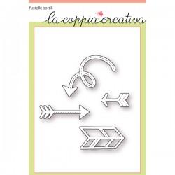 Fustella La Coppia Creativa Frecce