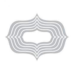 Fustella    Sizzix Framelits Die Set 5PK - Labels, Elegant #2