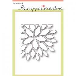 Fustella La Coppia Creativa Fiore all'angolo