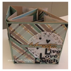 Kit Progetto Eda 'Mini Album Live Love Laugh'