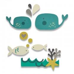Fustella Sizzix Thinlits - Under the Sea