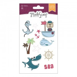 Timbro Clear ModaScrap Clear Stamps - SAILOR'S LIFE