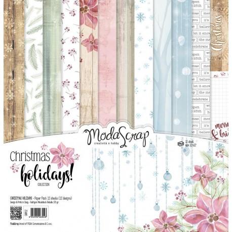 Kit carte ModaScrap - Christmas Holidays