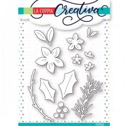 Fustella La Coppia Creativa Fiori di Natale
