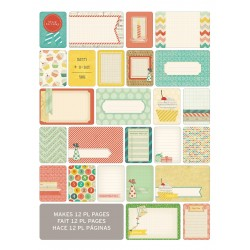 Kit 60 carte - Becky Higgins - Celebrate