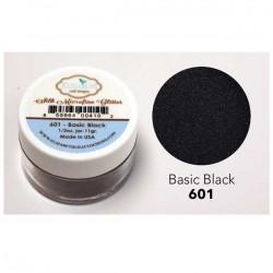 Silk Microfine Glitter - Basic Black