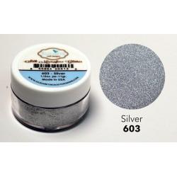 Silk Microfine Glitter - Silver