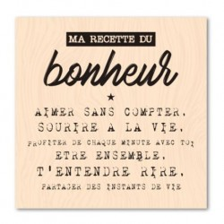 Timbro legno - Les Ateliers de Karine - Ma recette du bonheur