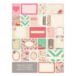 Kit 40 carte - Becky Higgins - Love