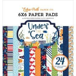 "Paper Pads 6""X 6"" Echo Park  - Under the Sea"