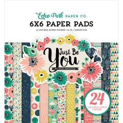 """Paper Pads 6""""X 6"""" Echo Park  - Just be You"""