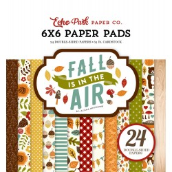 "Paper Pads 6""X 6"" Echo Park  - Fall in the Air"