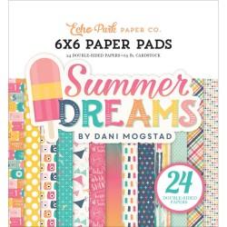 "Paper Pads 6""X 6"" Echo Park  - Summer Dreams"
