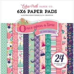 "Paper Pads 6""X 6"" Echo Park  - Once upon a time Princess"