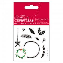 Timbro clear Docrafts - Build Your Own Wreath