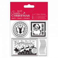 Timbro clear Docrafts - Postage Marks