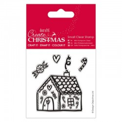 Timbro clear Docrafts - Gingerbread House
