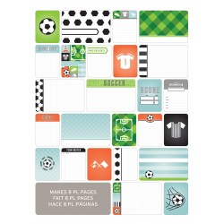 Kit 40 carte - Soccer