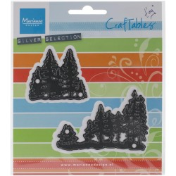 Fustella Marianne Design - Tiny's Pine Trees