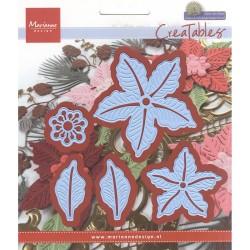 Fustella Marianne Design - Petra's Poinsettia