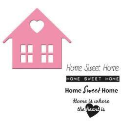 Fustella Marianne Design - Home Sweet Home