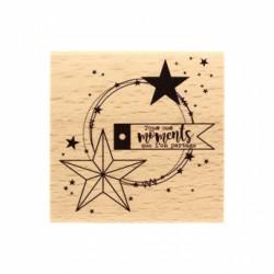 Timbro legno Florileges - MOMENTS PARTAGÉS