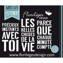 Fustella Florileges - Belles choses