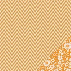 Cartoncino american craft - Apricot chevron
