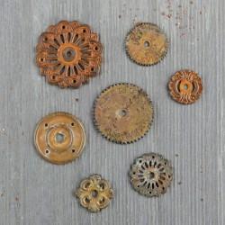 Mechanicals - Rustic Washers - Prima Marketing - Finnabair