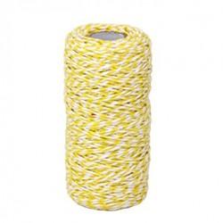 Twine -  All Italian Mood - bianco e giallo
