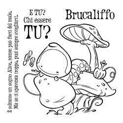 Timbro Clear-Mi - Impronte D'Autore - Brucaliffo