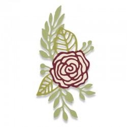 Fustella Sizzix Thinlits - Doodle rose