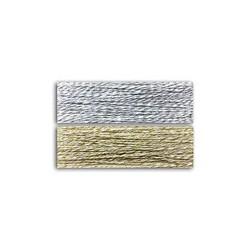 Twine - Toga - Bianco Argento e Beige Oro